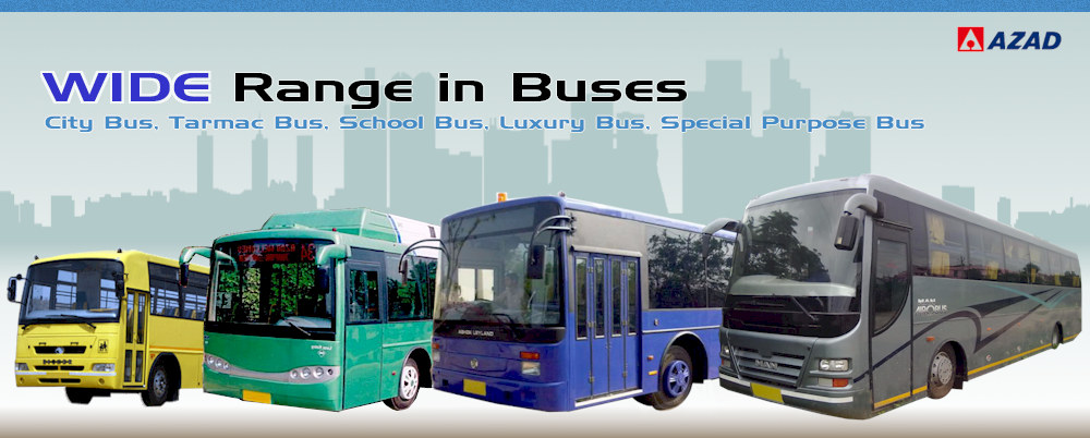 Azad Group Manufacturers Of Luxury Coaches City Bus Special Buses Bus Body Kits